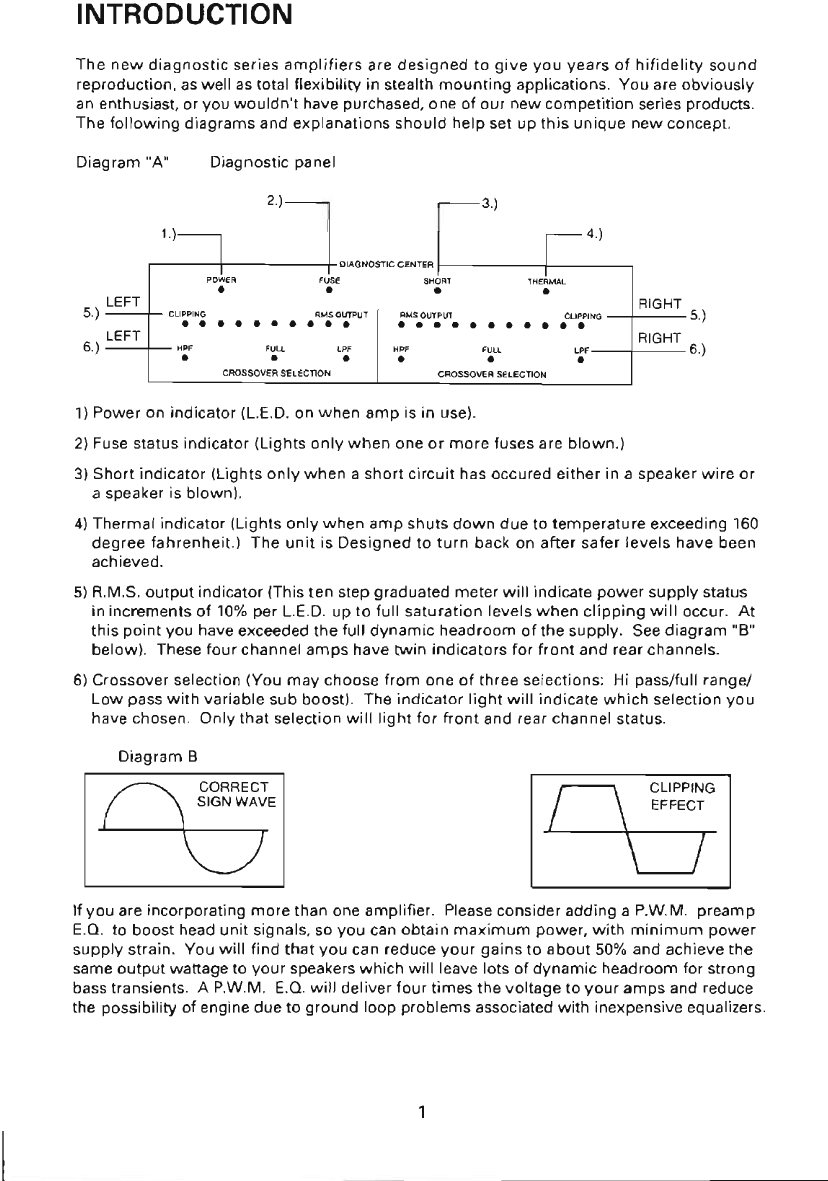 Page 2 Of Power Acoustik Stereo Amplifier 4ds400 400 Watts 4ds600 Fahrenheit Wiring Diagram 9