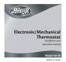 hunter fan thermostat 40170 user guide manualsonline com hunter fan 40170 thermostat user manual page 1