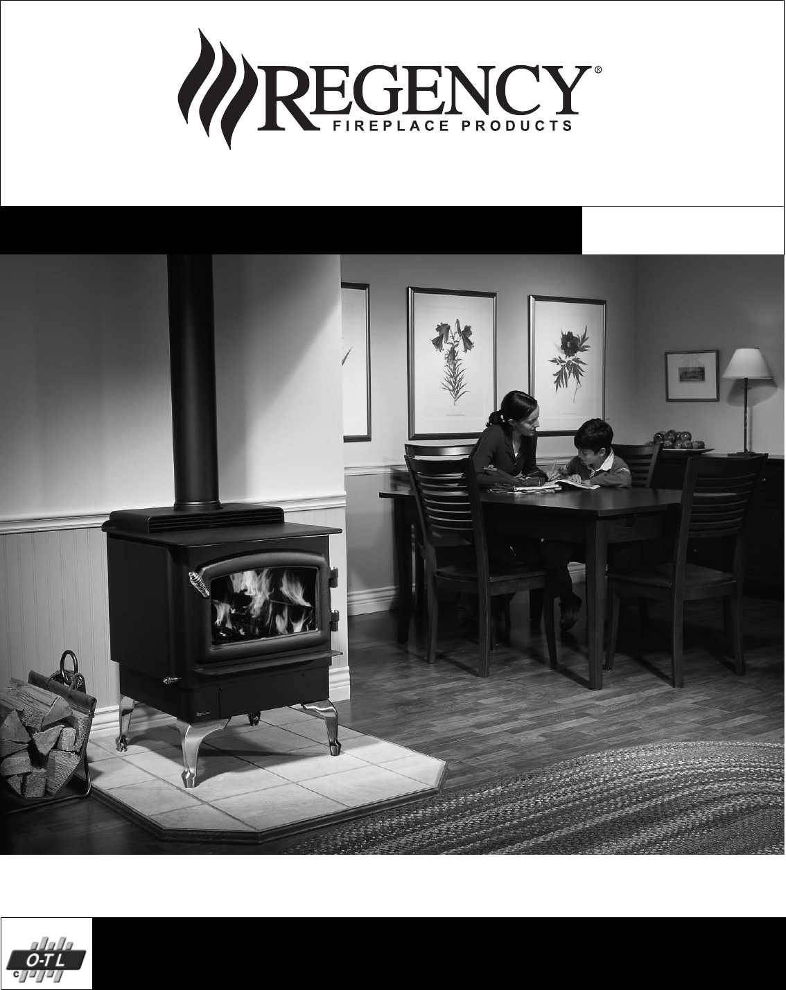 Regency Wraps Stove F2400m User Guide