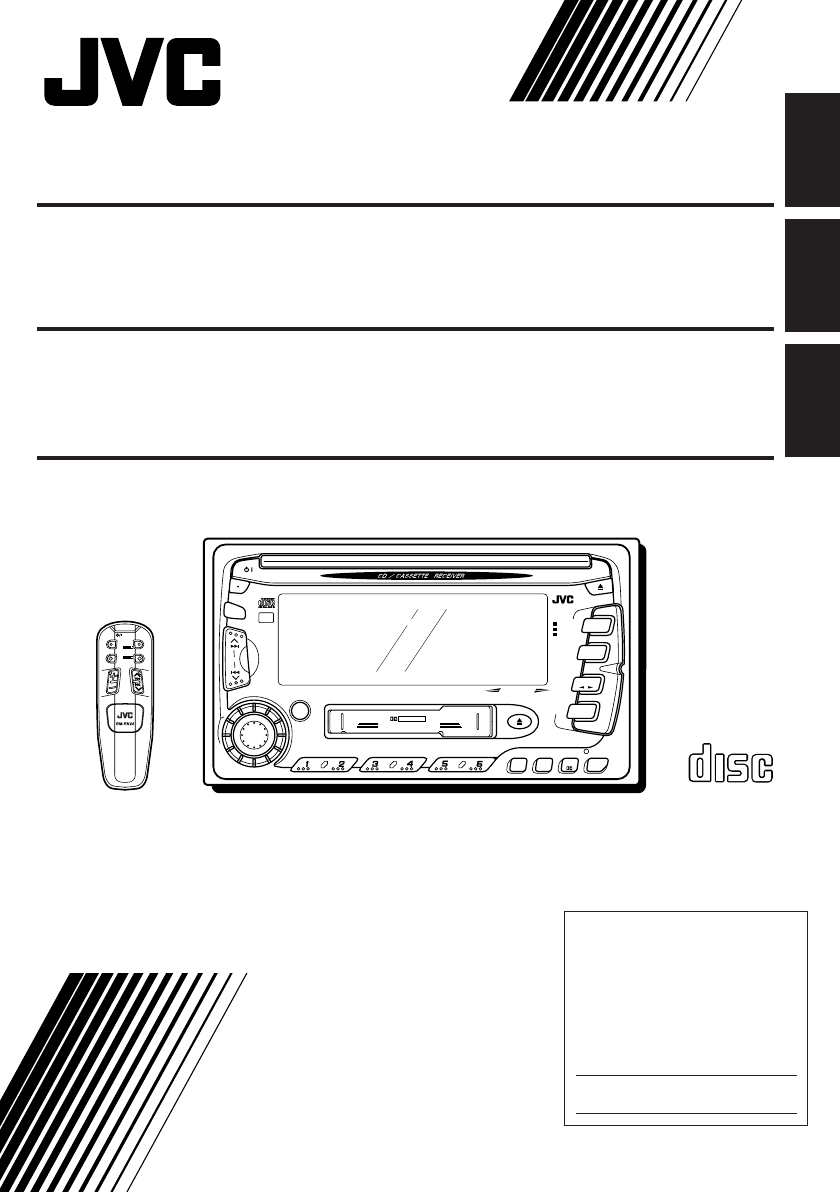 jvc car stereo system kw xc770 user guide manualsonline com jvc car stereo manual kd-r600 jvc car stereo manual kd-r330