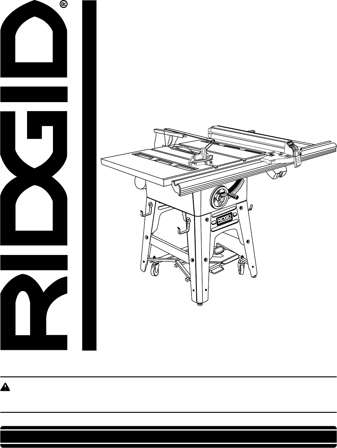 Ridgid saw ts3650 user guide manualsonline your new table saw has been engineered and manufactured to our high standards for dependability ease of operation and keyboard keysfo Choice Image