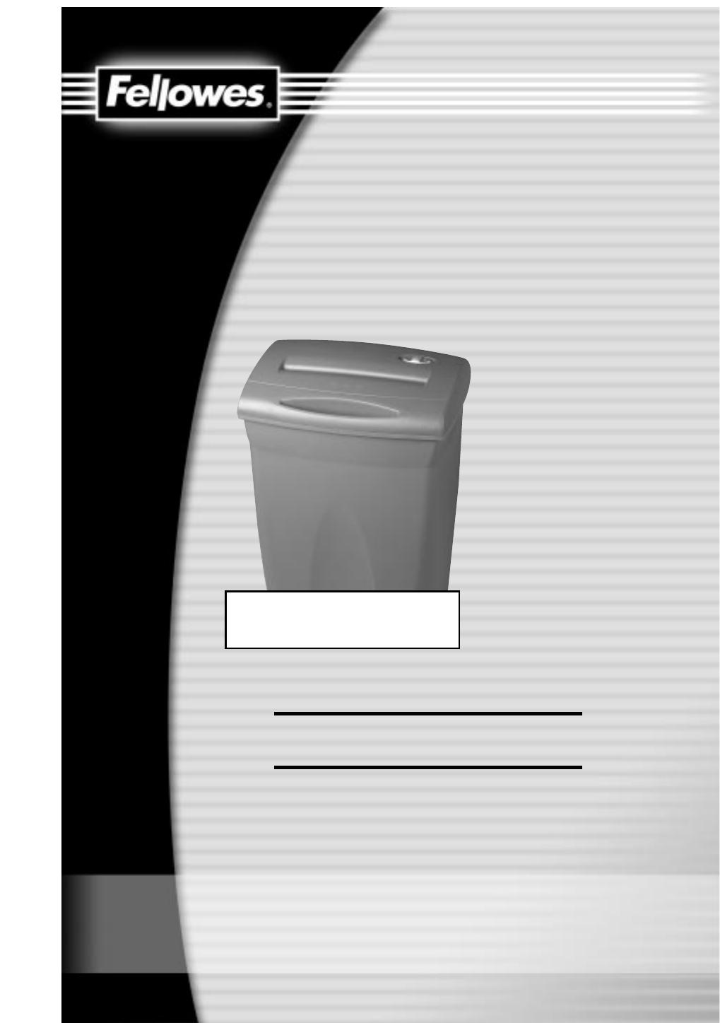 fellowes paper shredder p500 2 user guide manualsonline com rh office manualsonline com P500 Pill Identifier White Pill P500