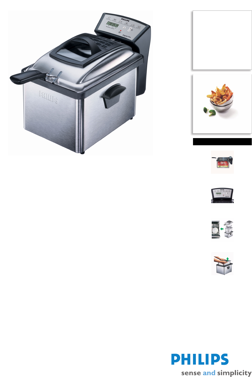 philips fryer hd6161 user guide manualsonline com rh kitchen manualsonline com Philips User Guides Speaker Bt7900 Philips User Guides