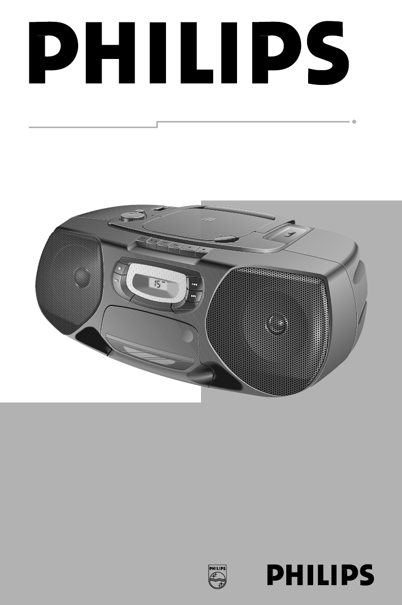 philips mp3 cd player manual