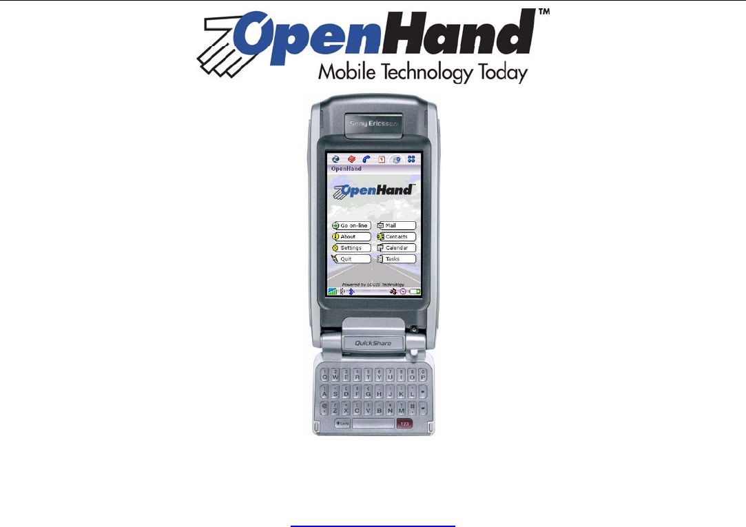 sony ericsson cell phone p800 user guide manualsonline com rh cellphone manualsonline com Phone System Samsung Mobile Phone User's Guide
