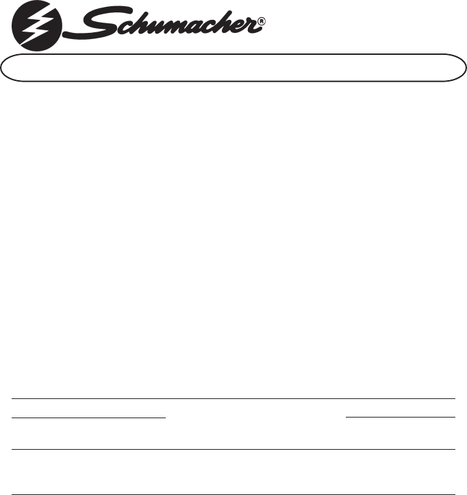 wiring diagram for schumacher battery charger wiring schumacher battery charger se 50 ma 2 user guide manualsonline com on wiring diagram for schumacher