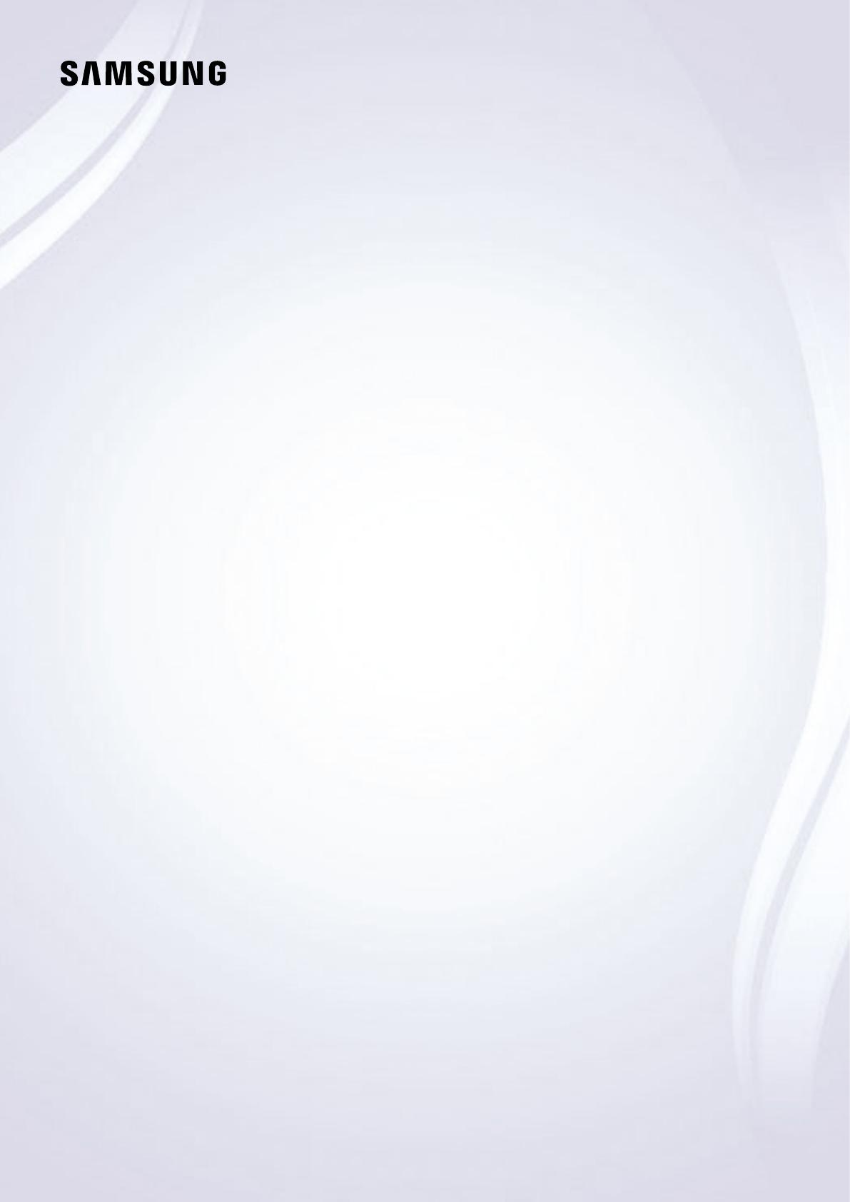Samsung Flat Panel Television UN65KS8000FXZA User Guide