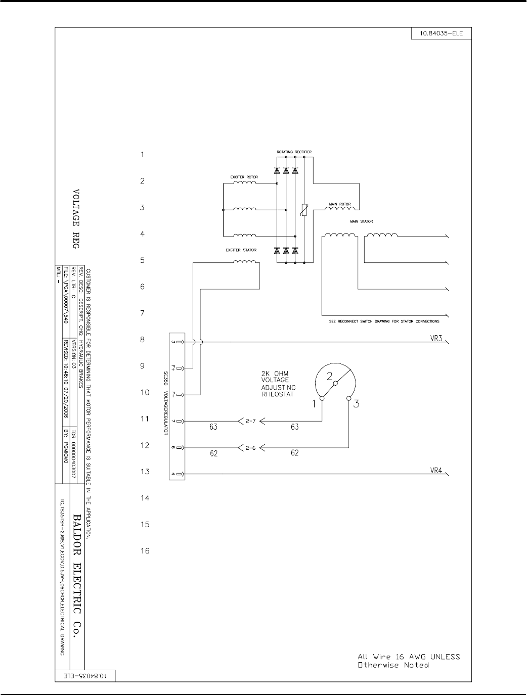 page 59 of baldor portable generator ts175 user guide | manualsonline.com  lawn and garden manuals - manuals online