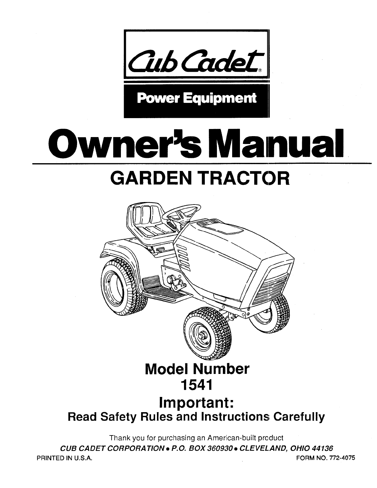 cub cadet lawn mower user guide manualsonline com next