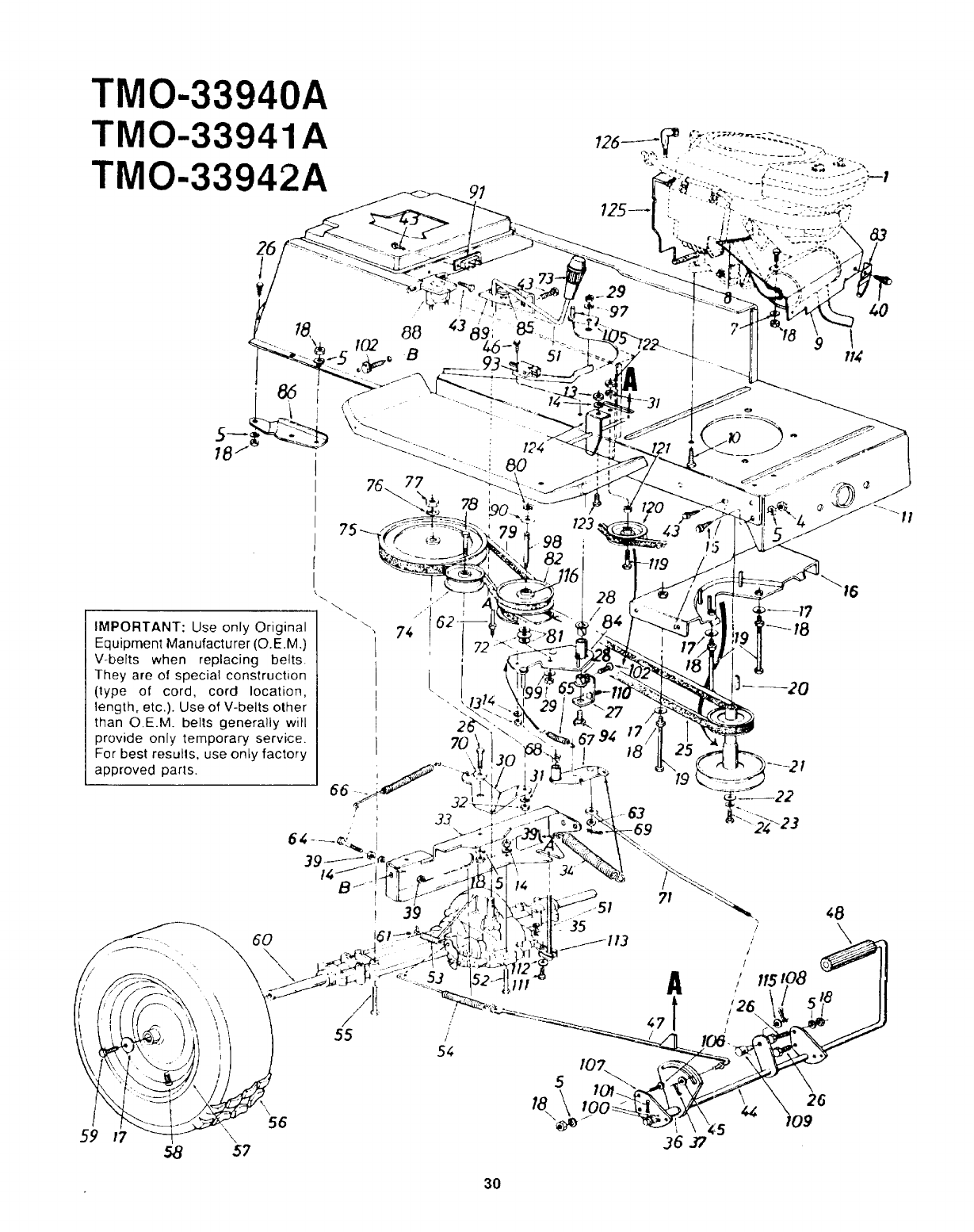 page 30 of montgomery ward lawn mower tmo