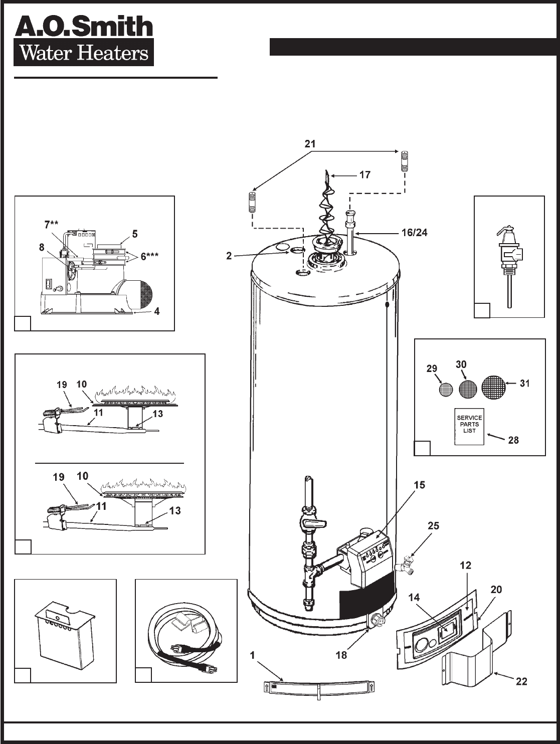 ao smith hot water heater wiring diagram ao image a o smith water heater gpvt 50 user guide manualsonline com on ao smith hot water heater