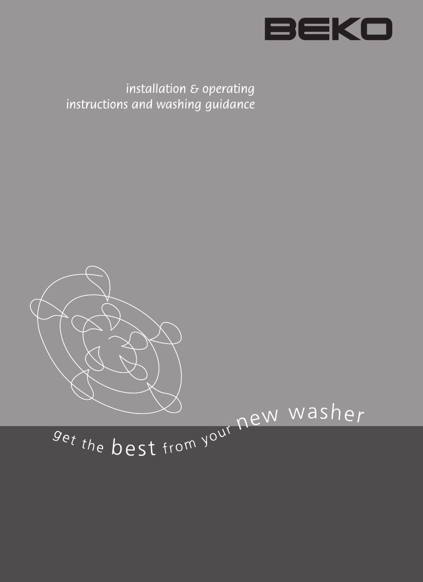 beko washer wm5120w user guide manualsonline com rh laundry manualsonline com