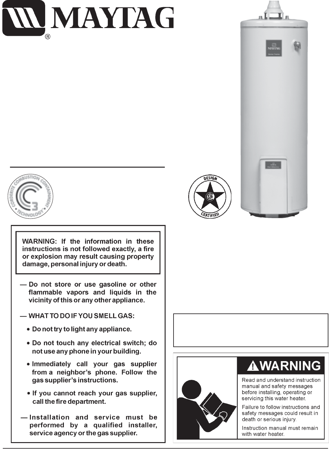 Maytag Water Heaters 118