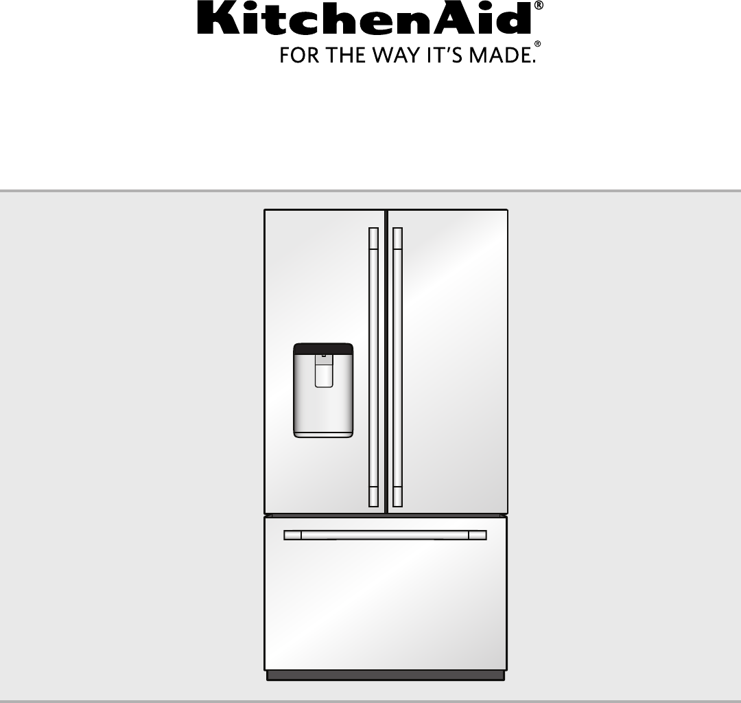 stainless depth exterior refrigerator door standard care and french water ft cu food kitchen kitchenaid width steel system with aid ststkistdefr preserva inch ice