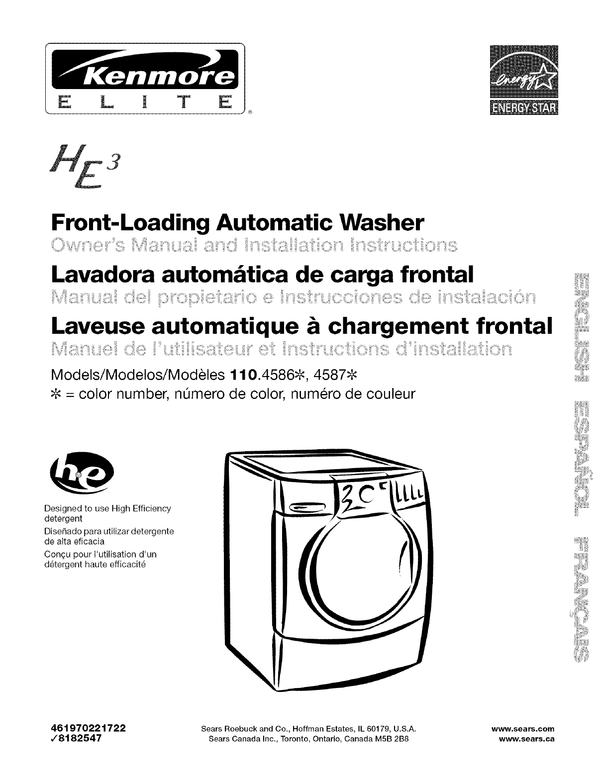 Front-Loading Automatic Washer