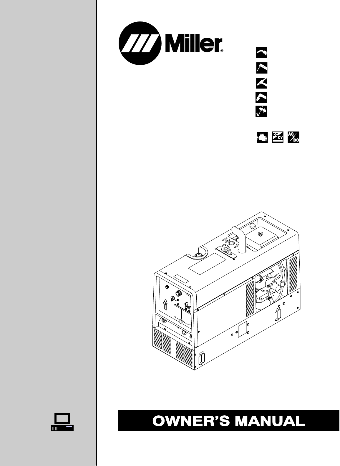 miller electric welding system 301 g  dc user guide