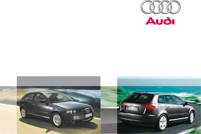 Audi automobile a3 user guide manualsonline audi a3 a3 sportback sciox Choice Image
