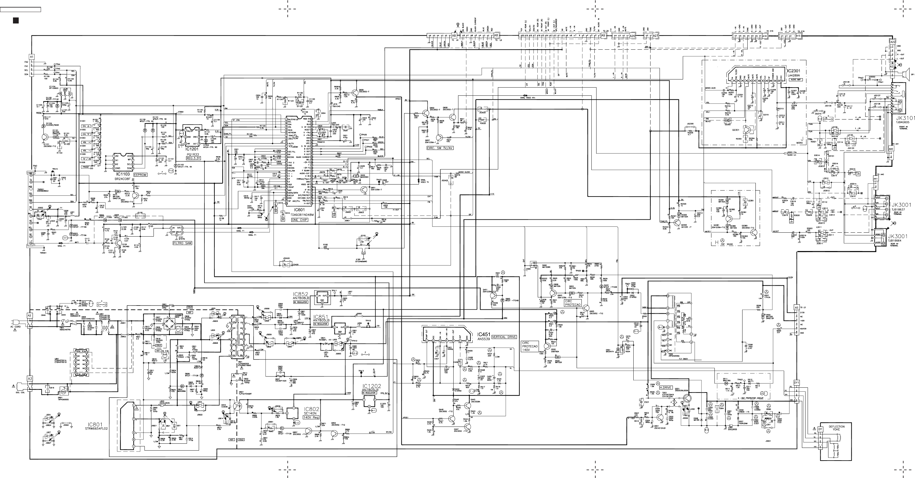 Sharp Crt Tv Schematic Diagram Wiring Panasonic Trusted