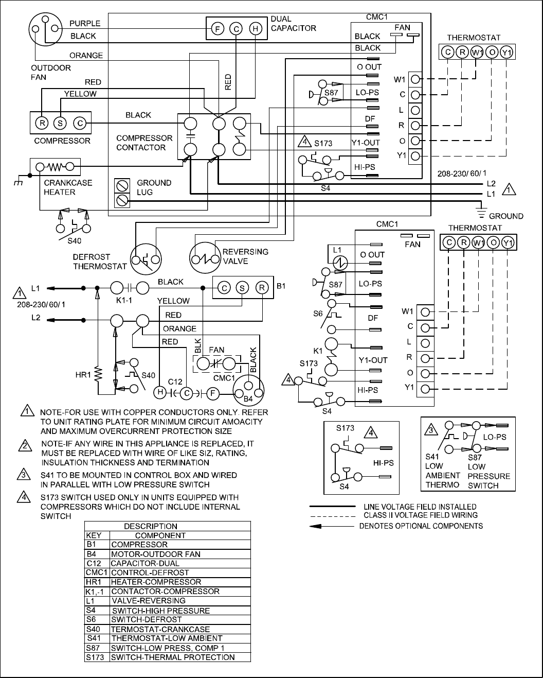 Honeywell Limit Switch Wire Diagram moreover TM 5 4210 230 14P 1 278 furthermore Switch Wiring Diagram Australia moreover Blower Door Interlock Switch also HVAC Clearance Distances. on lennox wiring diagram pdf