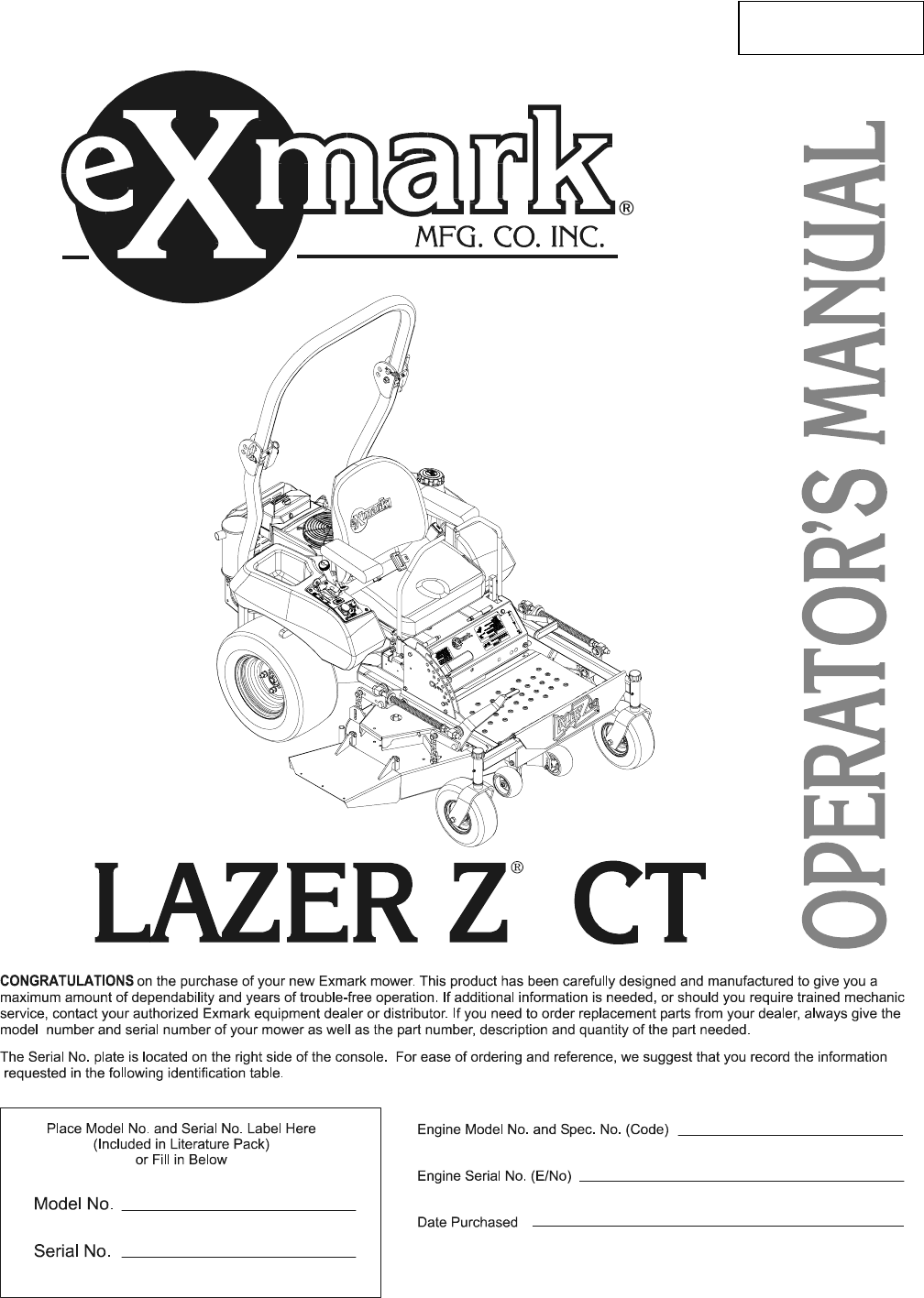 2a16a19e 46fd 4b7f bad9 75dfc22e1169 bg1 exmark lawn mower lazer z ct user guide manualsonline com exmark lazer z wiring schematic at readyjetset.co