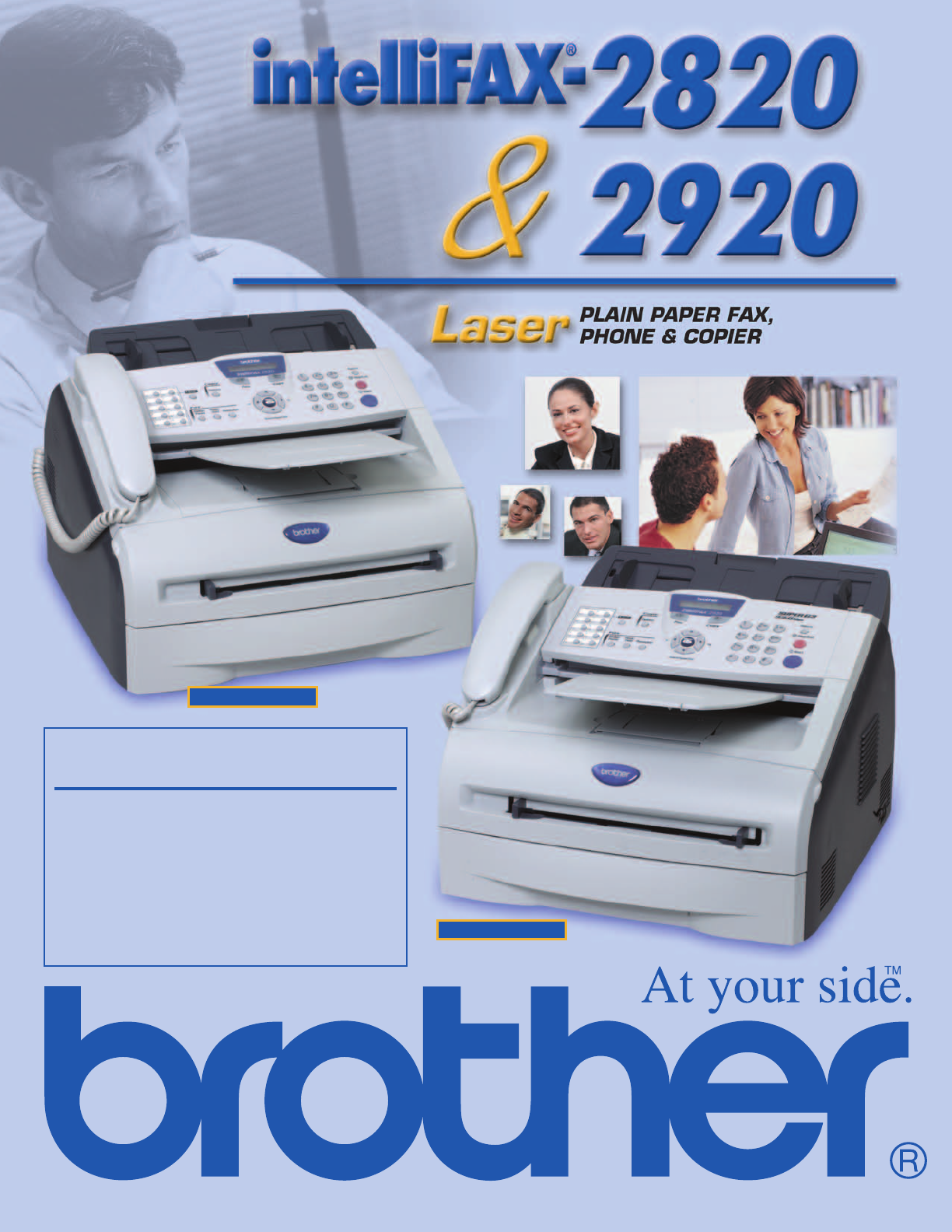 brothers fax machine 2820 manual