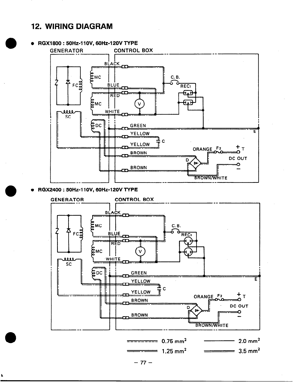 Robin Subaru Generator Wiring Diagram Will Be A Thing Ea82 Page 80 Of Power Products Portable 2005 Legacy