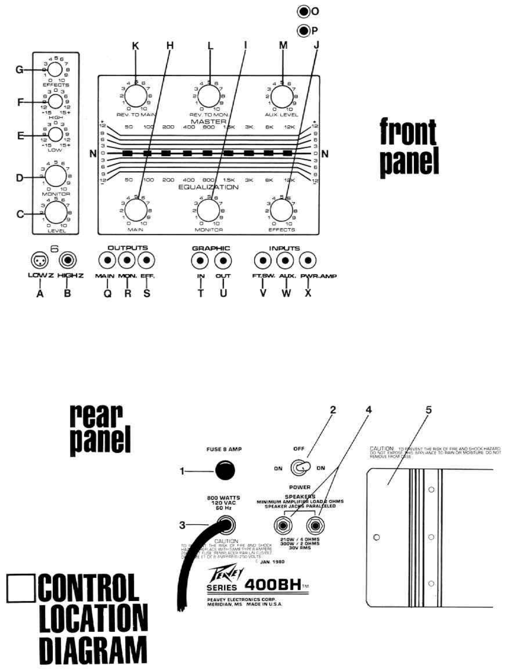 Page 4 Of Peavey Stereo Amplifier Xr