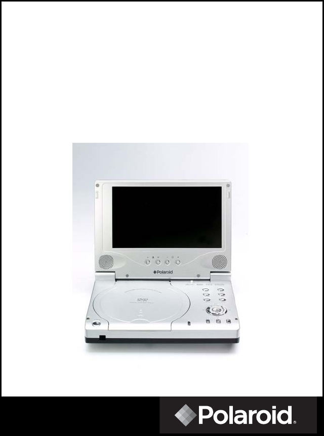 polaroid portable dvd player pdv 0713a user guide. Black Bedroom Furniture Sets. Home Design Ideas
