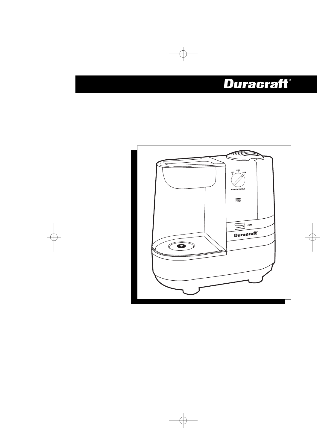 WARM MOISTURE HUMIDIFIER. Model DWM-250 Series. OWNER'S MANUAL