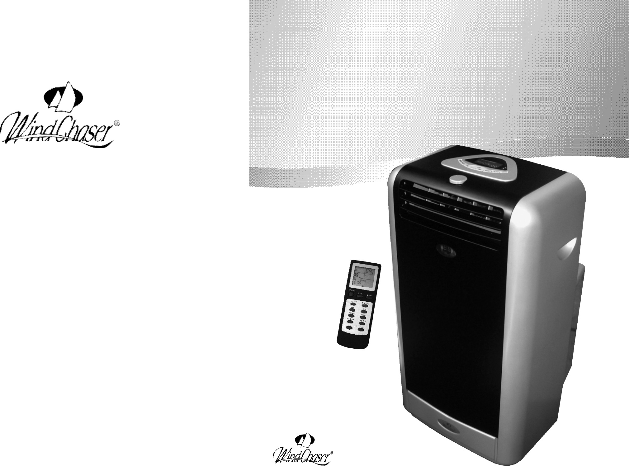 Portable Air Conditioner Troubleshooting Windchaser Products Air Conditioner Pacrwc Hp User Guide