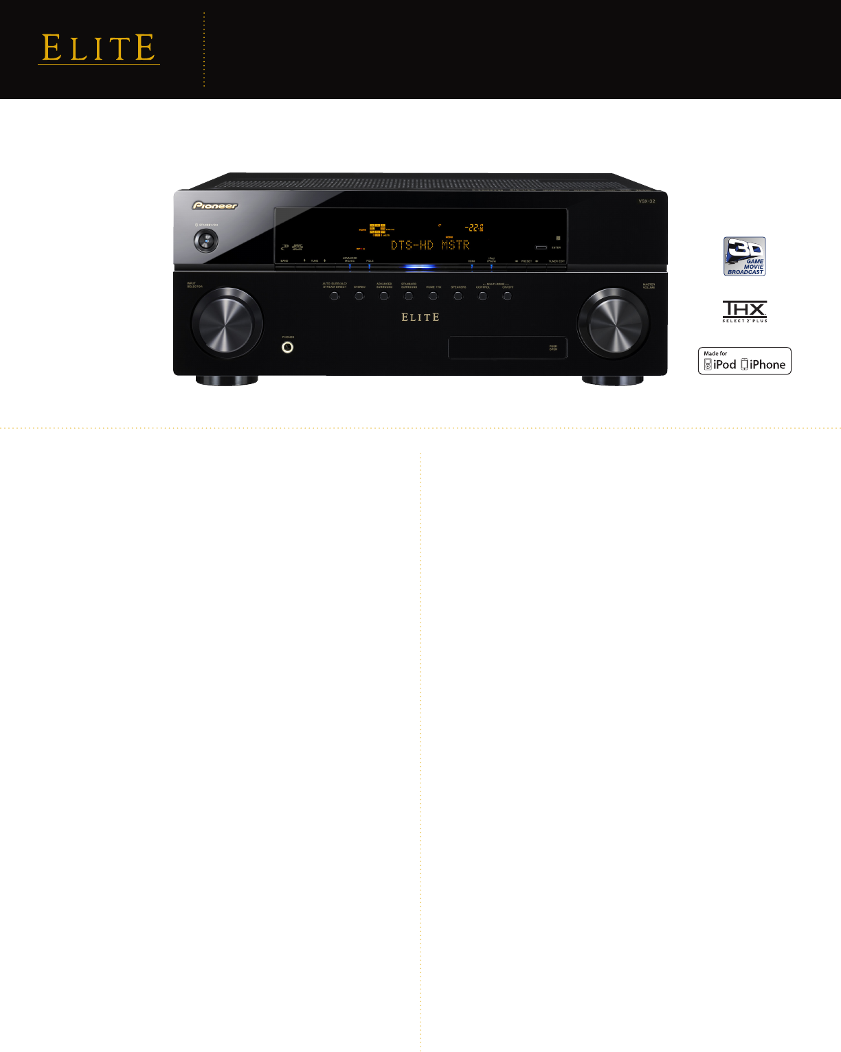 pioneer stereo receiver vsx 32 user guide manualsonline com rh audio manualsonline com pioneer elite vsx-32 manual Pioneer VSX 321 Receiver