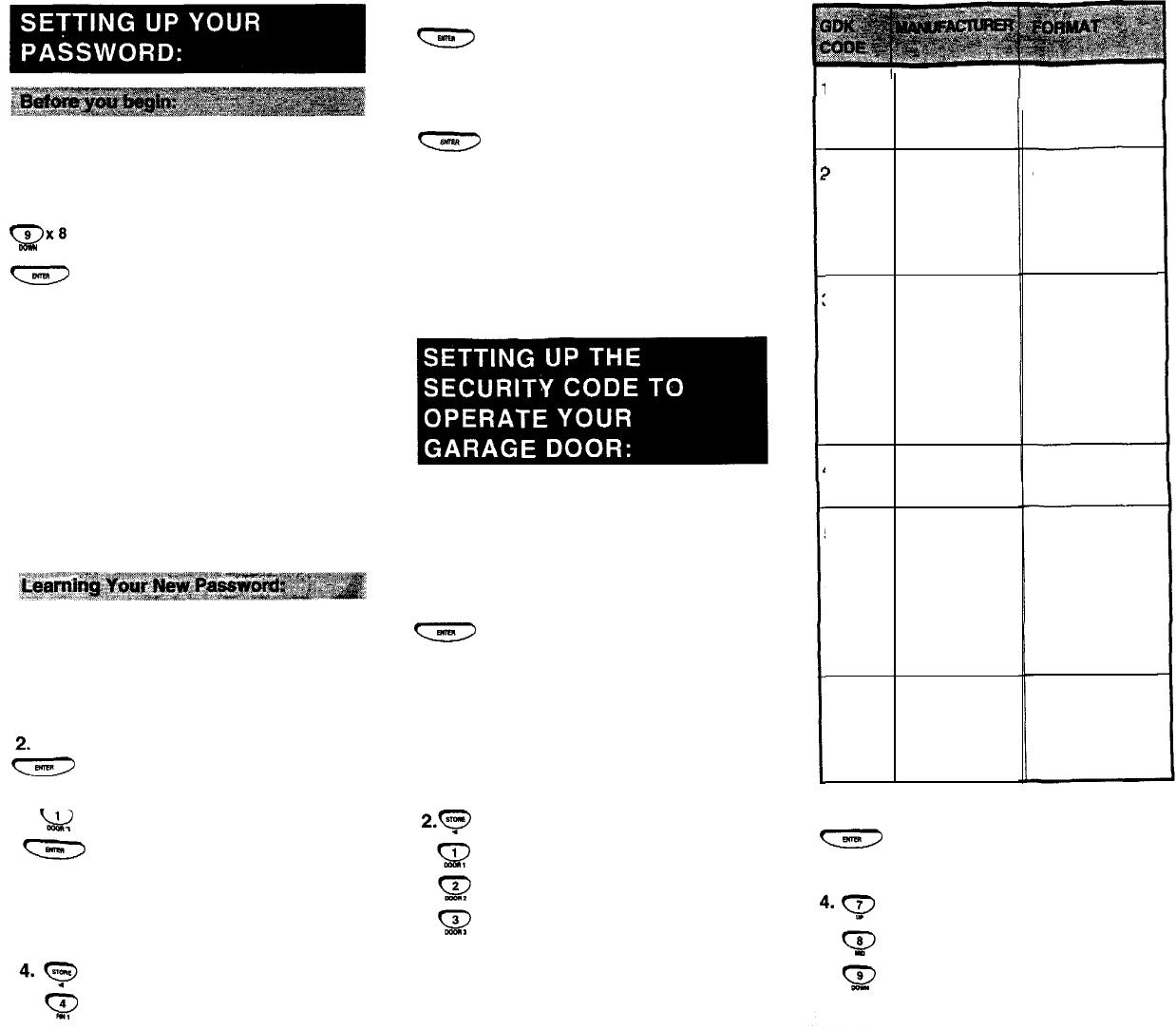 Page 2 Of Genie Garage Door Opener Sd9500 User Guide