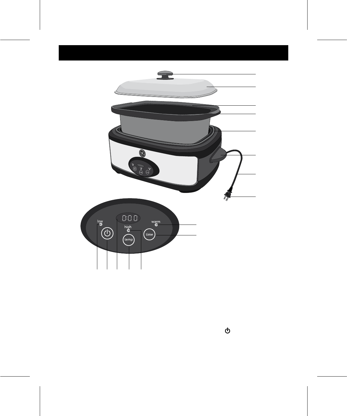 Page 4 Of Ge Slow Cooker 169143 User Guide Manualsonline Com