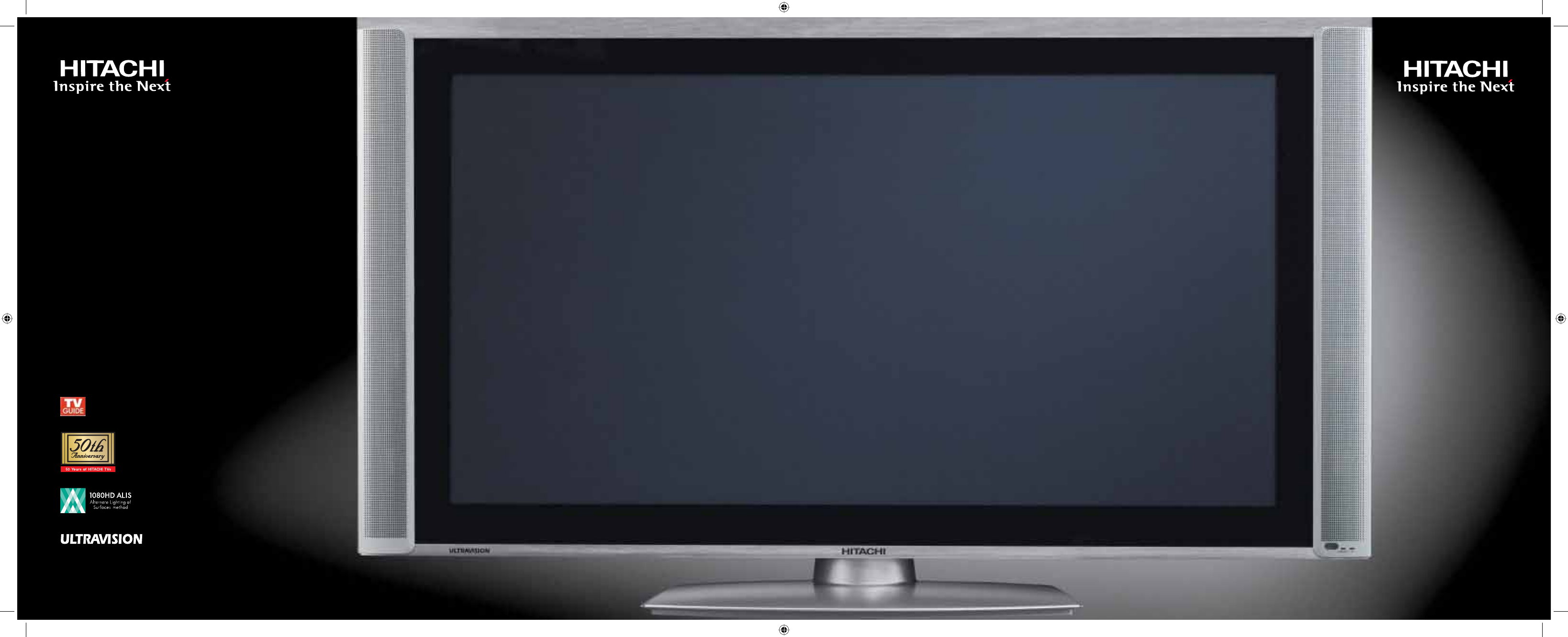 hitachi flat panel television plasma user guide. Black Bedroom Furniture Sets. Home Design Ideas