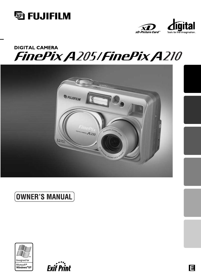fujifilm digital camera a210 user guide manualsonline com rh camera manualsonline com