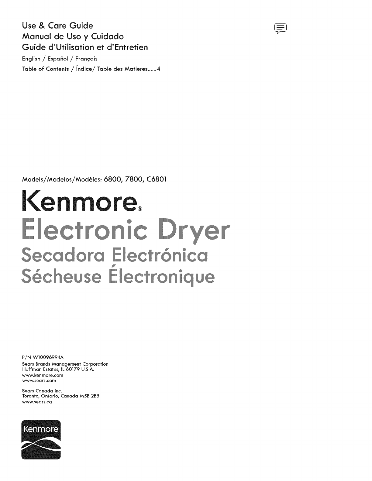 kenmore clothes dryer 6800 user guide manualsonline com rh laundry manualsonline com Kenmore Model 790 Electric Range Kenmore Gas Range