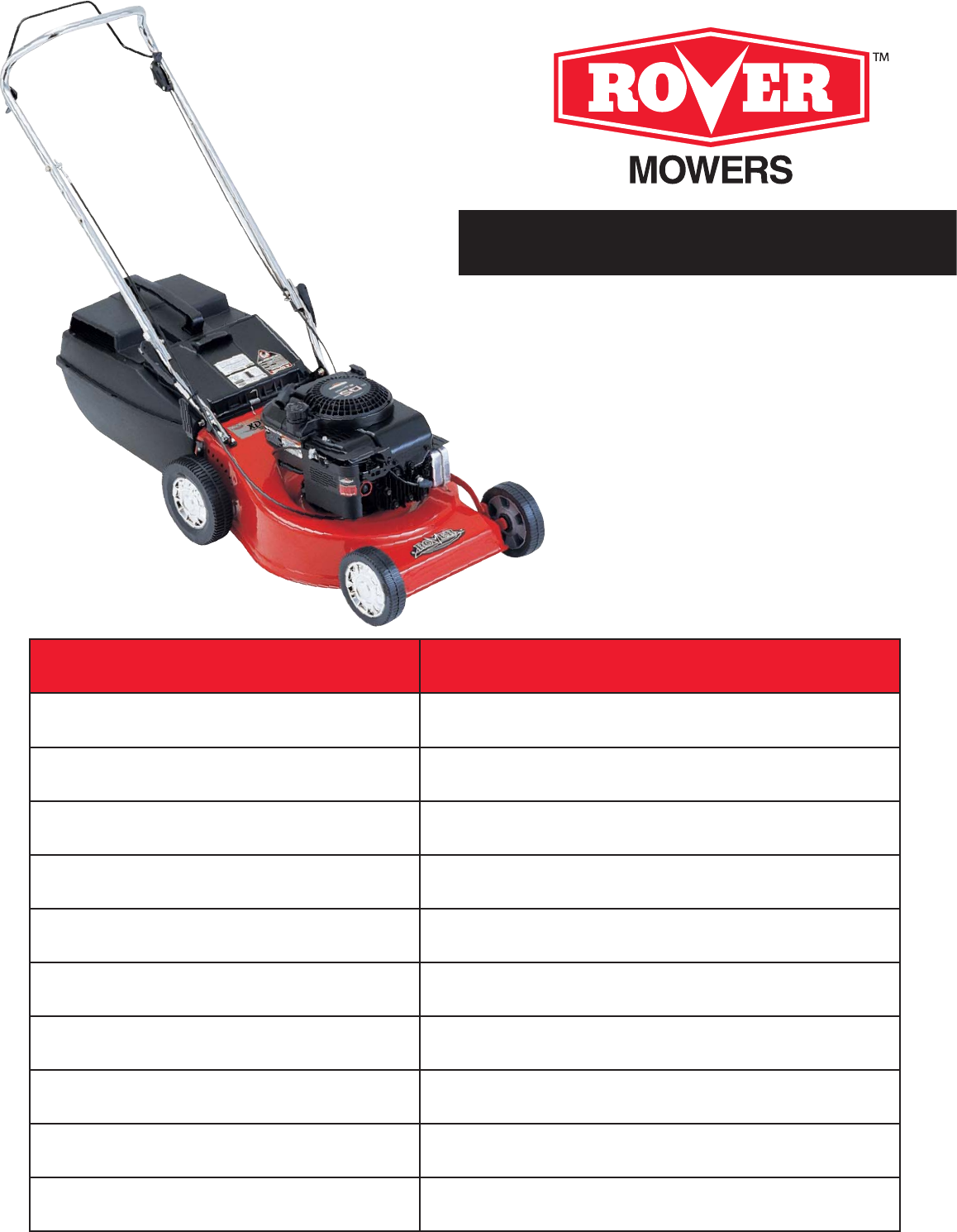 rover lawn mower 7091 user guide manualsonline com rh lawnandgarden manualsonline com Manual Push Aerator Manual Aerator Lowe's