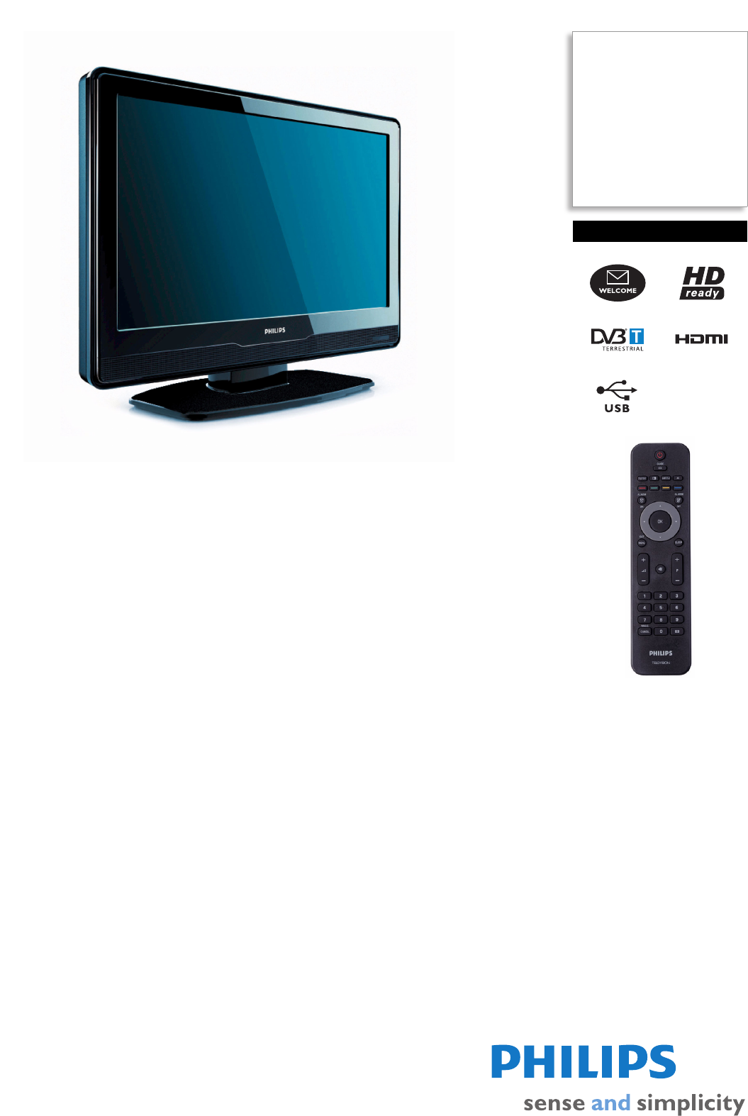 philips flat panel television 19hfl3340d user guide manualsonline com rh tv manualsonline com Philips Flat TV Owner Manual Philips HDTV Manual