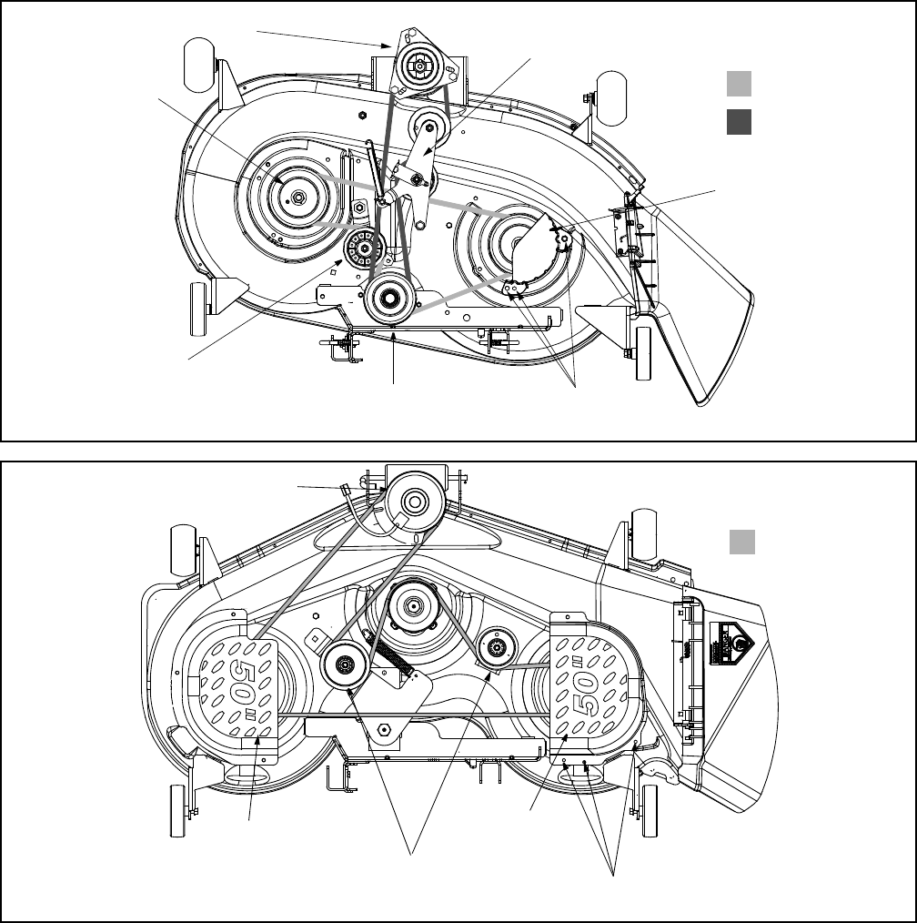 page 22 of cub cadet lawn mower lt1018 user guide manualsonline com rh lawnandgarden manualsonline com cub cadet belt diagram 804 series cub cadet belt diagram lt1018