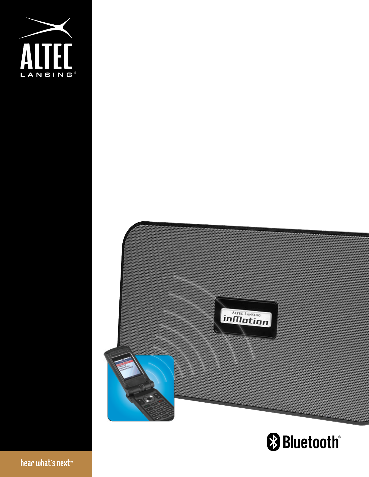 altec lansing speaker system imt525 user guide manualsonline com rh audio manualsonline com Altec Lansing InMotion Battery Altec Lansing InMotion iM3C