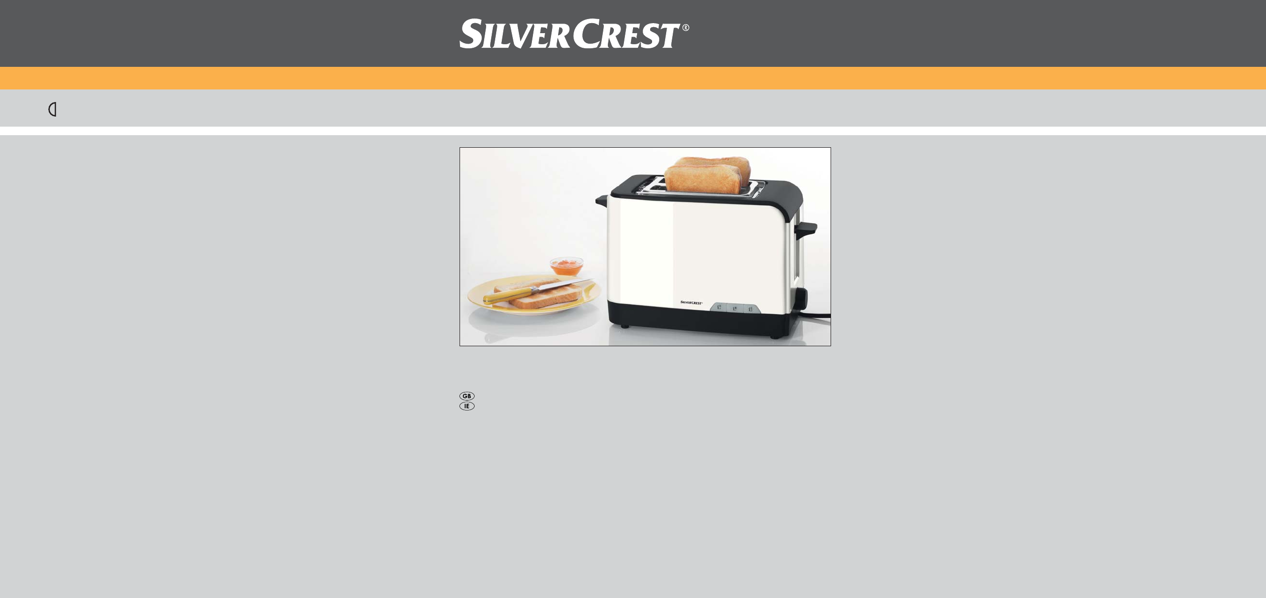 silvercrest toaster 800 a1 user guide manualsonline com rh kitchen manualsonline com Meridian Phone Manual silvercrest simply talk 100 telephone manual