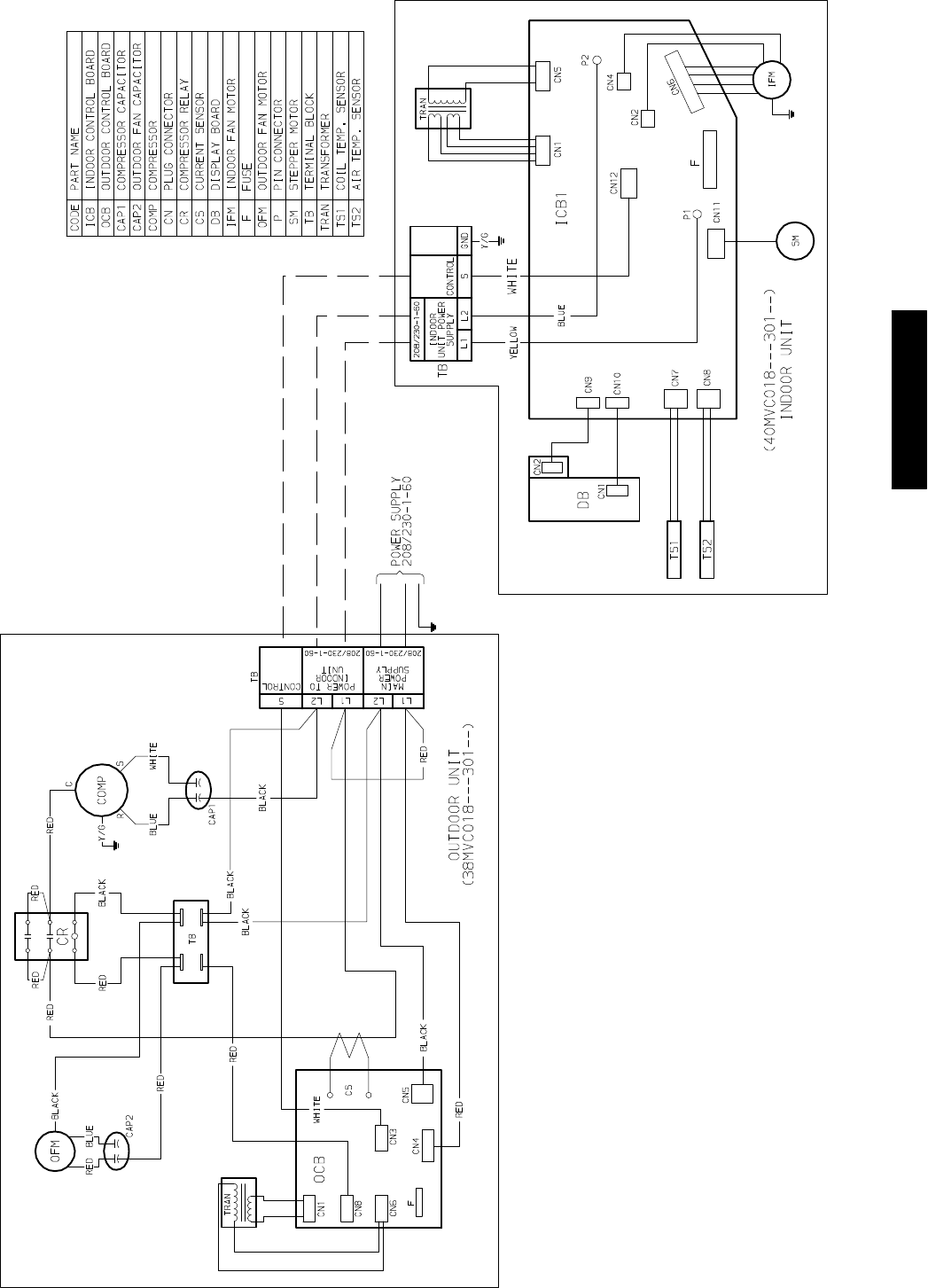 page 13 of carrier air conditioner 40mvc user guide