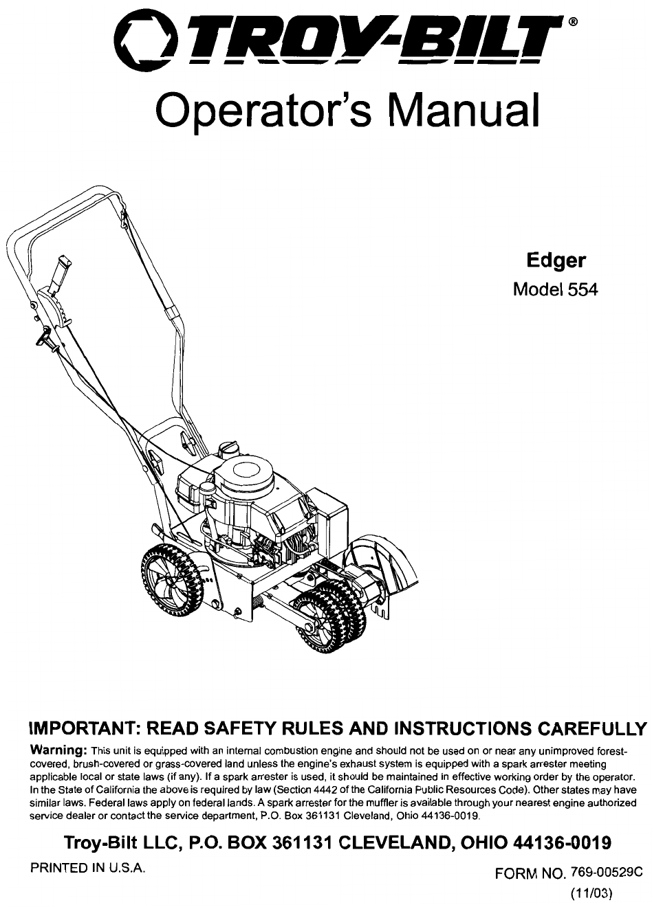 how to sharpen manual lawn edger