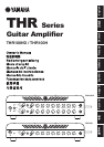 Stereo Amplifier THR100H