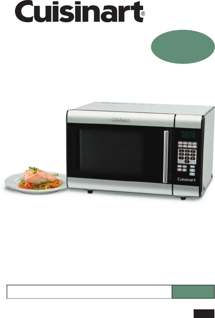 cuisinart microwave oven cmw 100 user guide manualsonline com rh kitchen manualsonline com cuisinart microwave cmw-100 manual Cuisinart Stainless Microwave