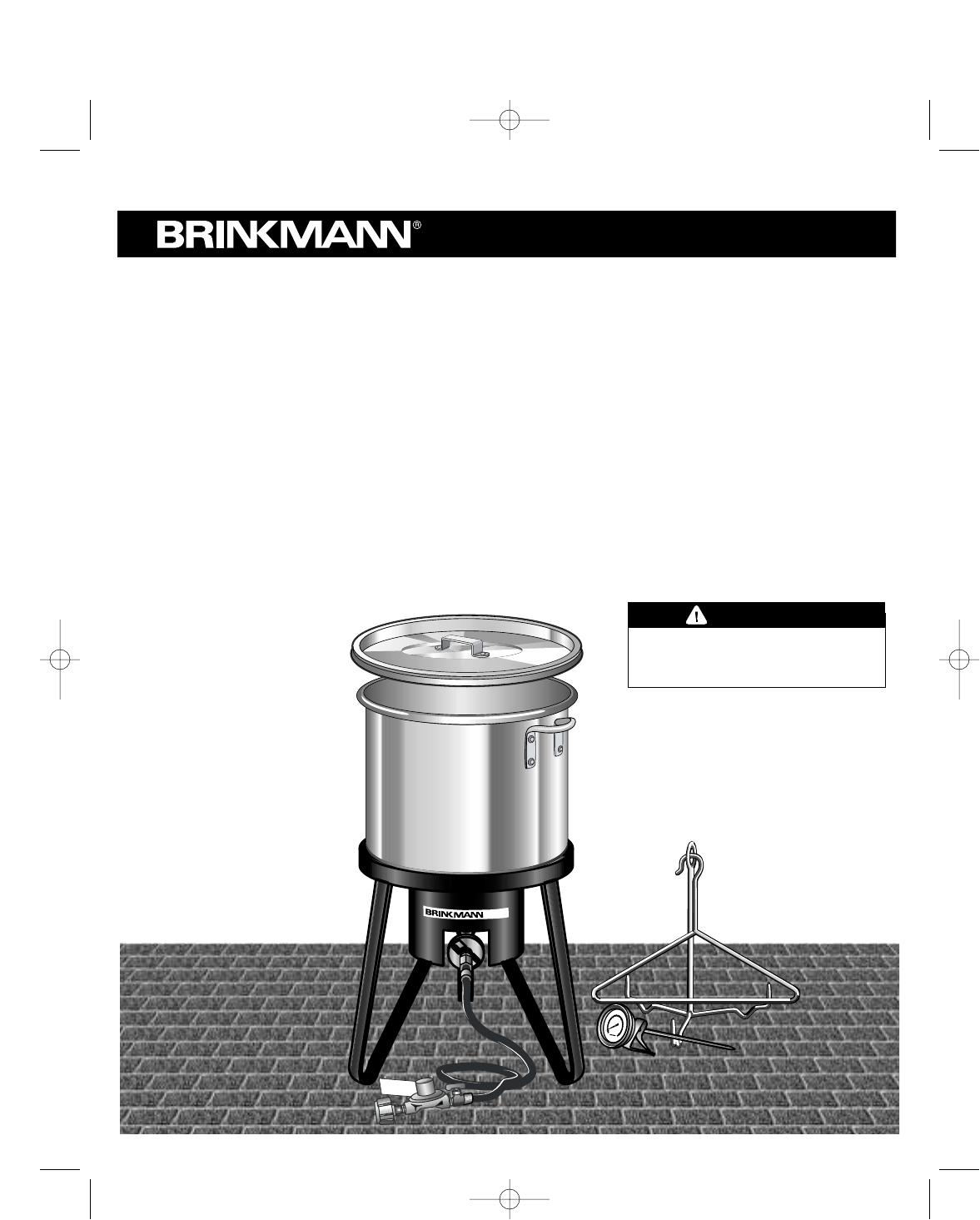 brinkmann turkey fryer 812 3325 7 user guide manualsonline com rh outdoorcooking manualsonline com Brinkmann Turkey Fryer Strainer Brinkmann 30 Qt Turkey Fryer