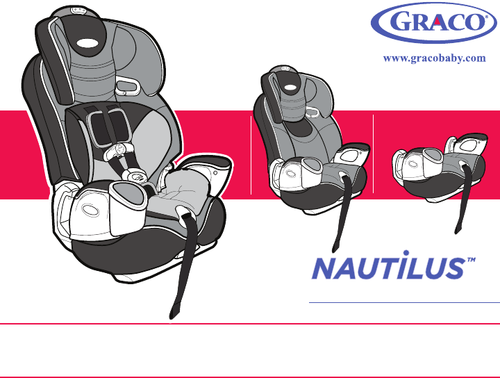 Graco Car Seat Child Restraint Booster Seat User Guide