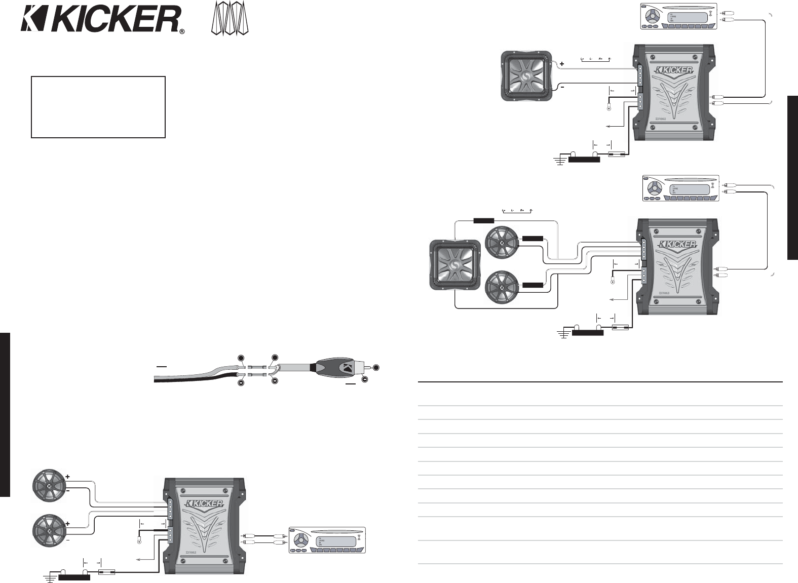 Kicker Bass Station Wiring Diagram Data Schema Pt250 Zx700 5 29 Images L7