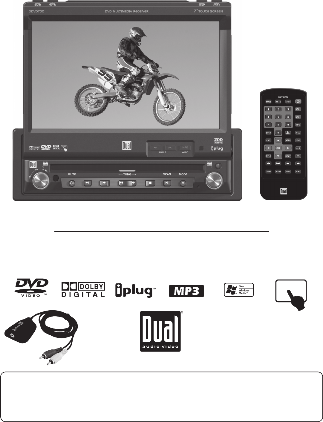 dual car video system xdvd700 user guide manualsonline com rh caraudio manualsonline com Dual Xdvd Dual XDVD700 Stereo Harness
