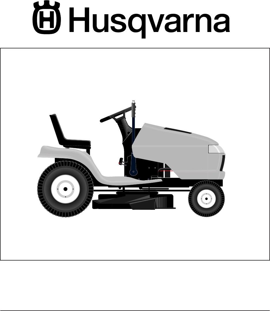 husqvarna lawn mower yth1848xp user guide manualsonline com rh kitchen manualsonline com Snowblower Attachment for Husqvarna Yth 150 Husqvarna Tractor Attachments